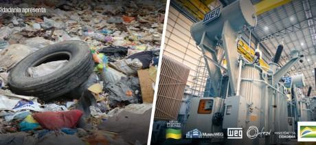 WEG lança solução para a geração de energia elétrica a partir do lixo