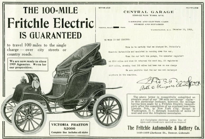 history-electric-car