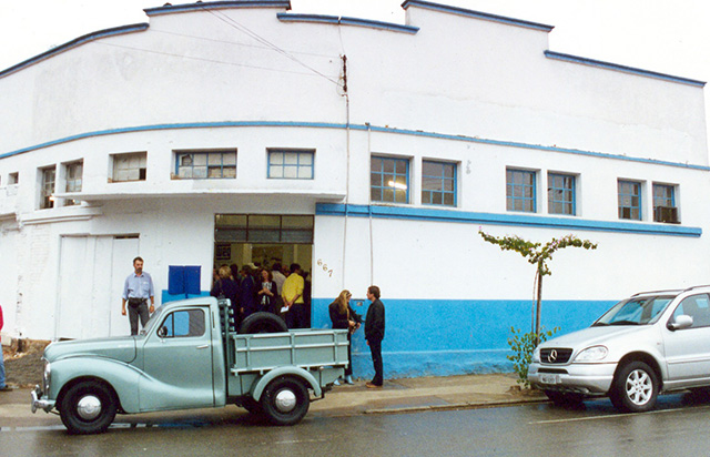 WEG celebrates 40 years and acquires the building where its first manufacturing site was located and offer the WEG Museum to the community of Jaraguá do Sul.